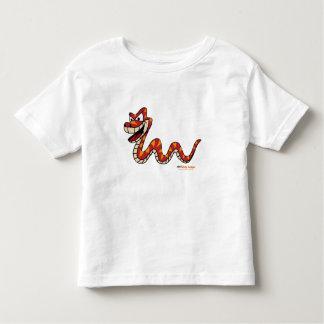 Fishfry designs Snake Uni-sex Toddler T shirt