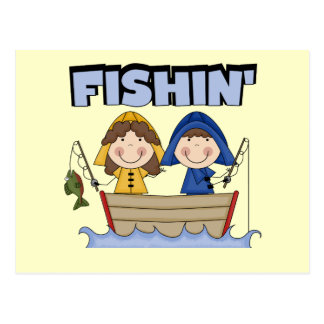 Fishin' Boat T-shirts and Gifts Postcards