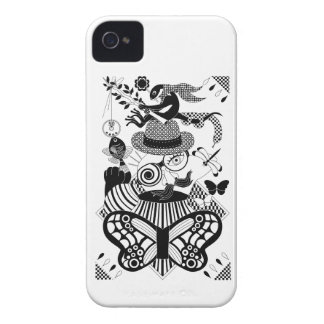 Fishing and nose glasses (Fishing and nose iPhone 4 Case