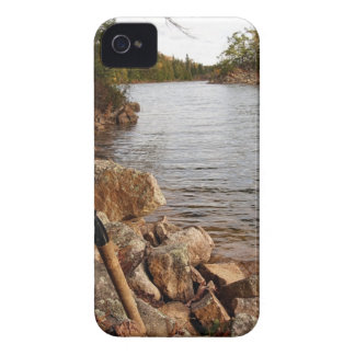 Fishing at the Lake iPhone 4 Case-Mate Cases
