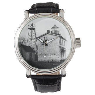 Fishing Battery Lighthouse Wristwatch