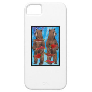 FISHING BEARS BEST iPhone 5 CASES