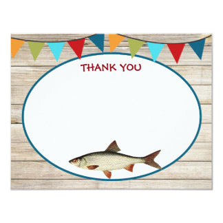 Fishing Birthday Thank You Cards