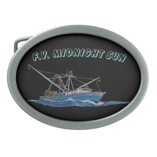fishing boat belt buckle