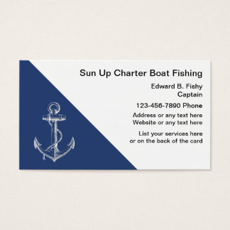 Fishing Boat Business Cards