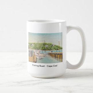 Fishing Boat - Cape Cod Basic White Mug
