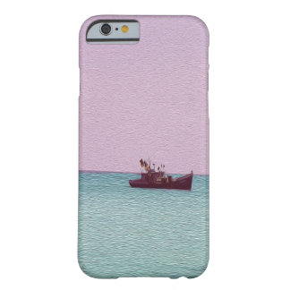 Fishing Boat Digital Art Barely There iPhone 6 Case