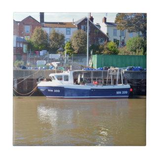 Fishing Boat MN 209 Ceramic Tile