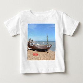 Fishing Boat Mona Lisa Baby T-Shirt