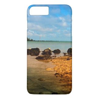 Fishing Boat On Mauritian Beach With Islet iPhone 7 Plus Case
