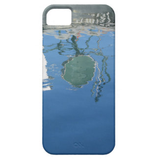 Fishing boat reflects in the water iPhone 5 covers