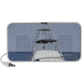 Fishing Boat Rendering Mp3 Speakers
