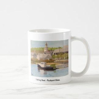 Fishing Boat - Rockport Mass. Basic White Mug