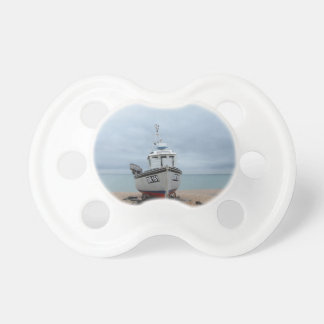 Fishing Boat Sapphire Pacifier