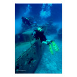 Fishing Boat Wreck Poster