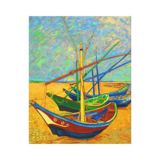 Fishing Boats at Saint Marie Canvas Print