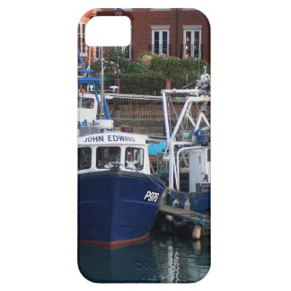 Fishing boats, Portsmouth, England iPhone 5 Cases