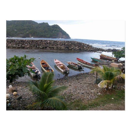 Fishing Boats Postcard