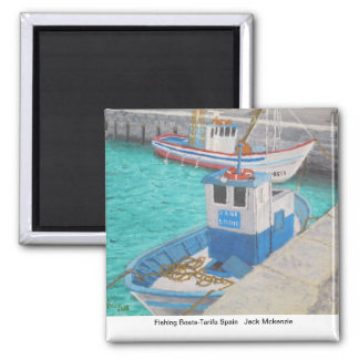 Fishing Boats-Tarifa Spain Magnet