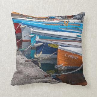 Fishing boats throw cushion
