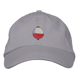 Fishing Bobber Embroidered Hat