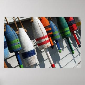 Fishing Bouy Poster