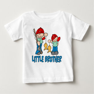 Fishing Buddies Little Brother Baby T-Shirt