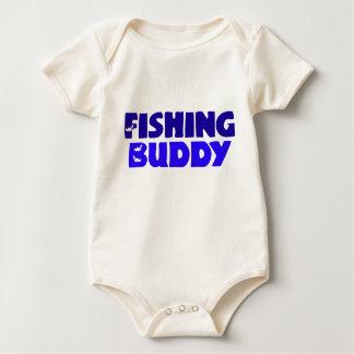Fishing Buddy Baby Bodysuit