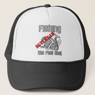 Fishing Bullhead The Reel Deal Trucker Hat