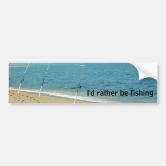 Fishing Bumper Sticker