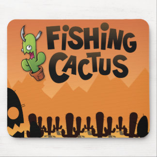 Fishing Cactus Official Mousepad