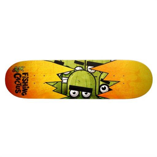 Fishing Cactus Skateboard