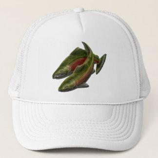 Fishing Cap Coho Salmon Fish Caps & Hats