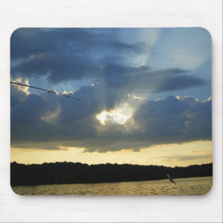 Fishing Cast Mouse Pad