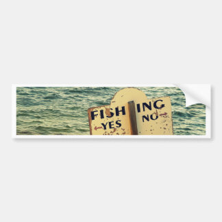 Fishing Choices Bumper Sticker