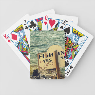 Fishing Choices Poker Deck
