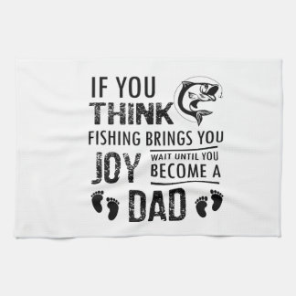Fishing Dad Kitchen Towel