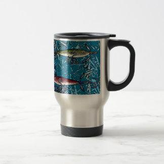 fishing day travel mug