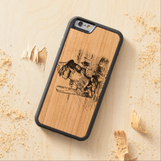 Fishing Early to bed Make up lies Cherry iPhone 6 Bumper