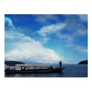 Fishing. East Halmahera. Indonesia Postcard