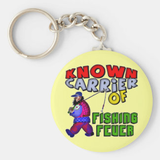 Fishing Fever T-shirts and Gifts Keychain