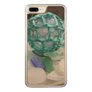 Fishing float on glass, Alaska Carved iPhone 7 Plus Case