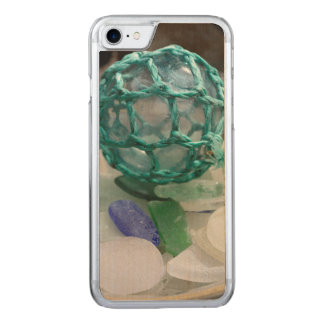 Fishing float on glass, Alaska Carved iPhone 8/7 Case