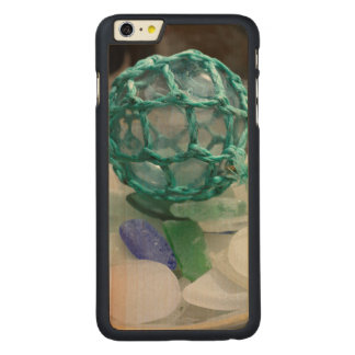 Fishing float on glass, Alaska Carved® Maple iPhone 6 Plus Case