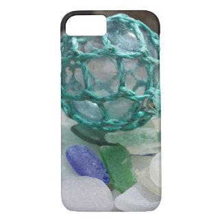 Fishing float on glass, Alaska iPhone 7 Case