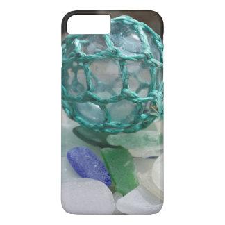 Fishing float on glass, Alaska iPhone 7 Plus Case