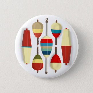 Fishing Floats / Bobbers 2 Inch Round Button