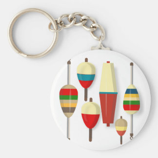 Fishing Floats / Bobbers Keychain
