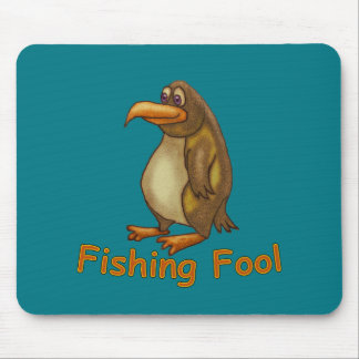 Fishing Fool Mouse Pad