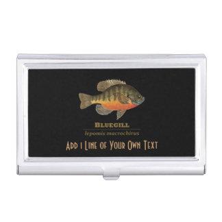 Fishing for Bluegill Business Card Holder